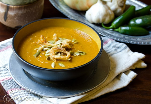 Pumpkin Spice Soup for the Holidays